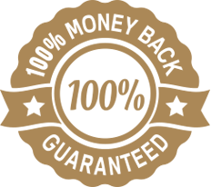100 percent money back