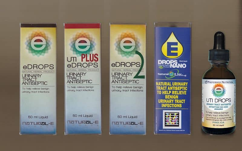 Photo of UTI E-Drops